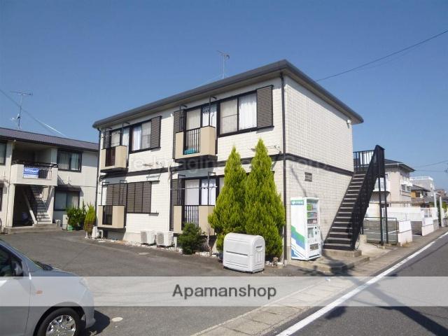 滋賀県大津市、堅田駅徒歩10分の築18年 2階建の賃貸アパート