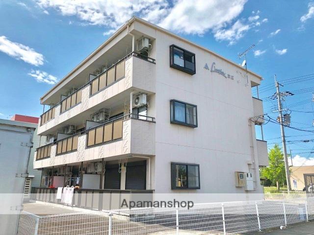 滋賀県高島市、安曇川駅徒歩10分の築19年 3階建の賃貸マンション