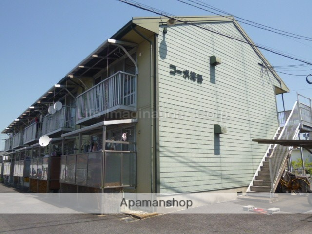 滋賀県大津市、南草津駅徒歩48分の築28年 2階建の賃貸アパート