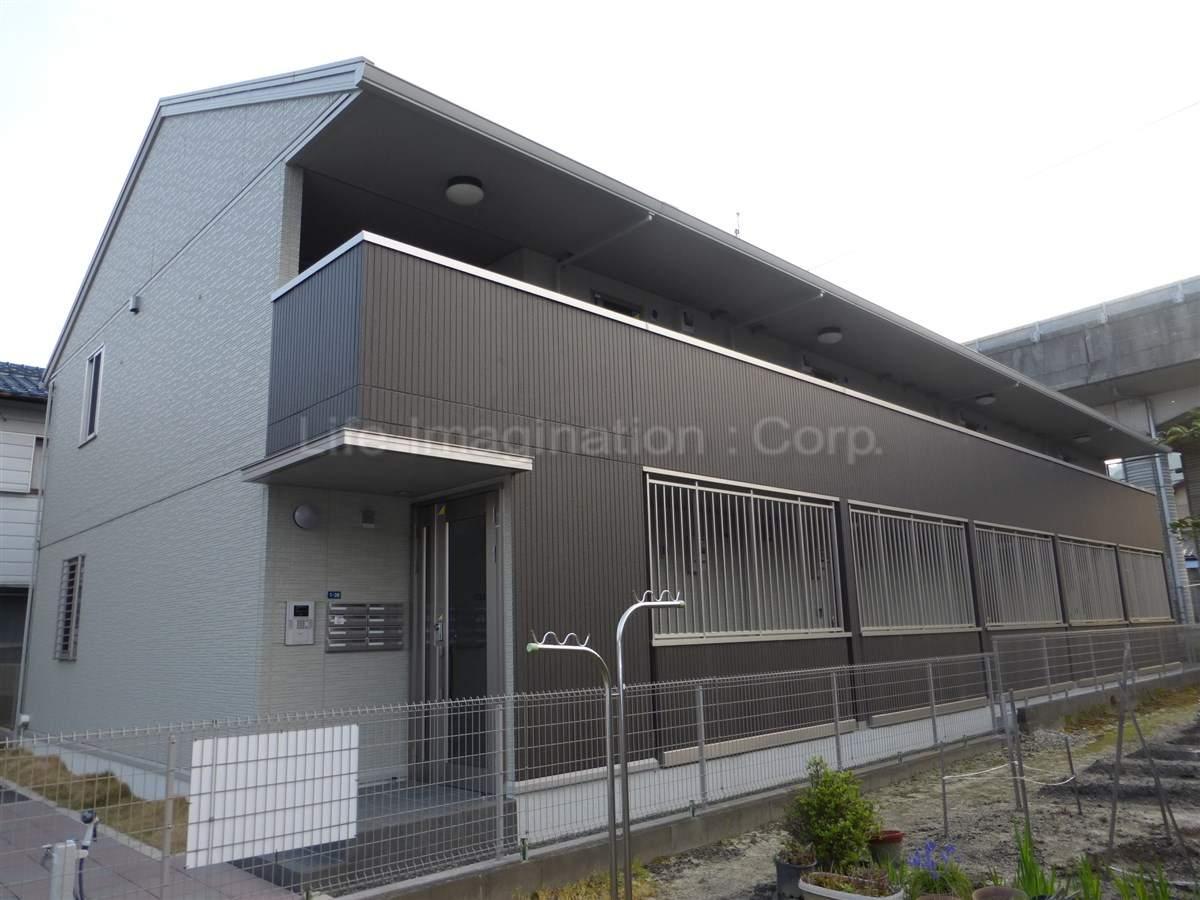 滋賀県大津市、大津京駅徒歩25分の築4年 2階建の賃貸アパート