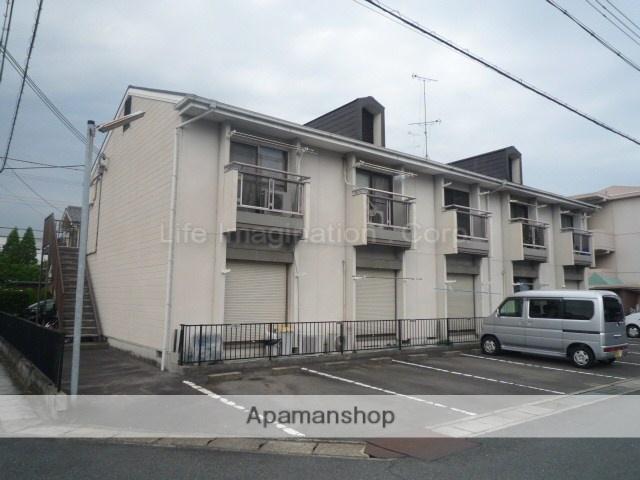 滋賀県野洲市、野洲駅徒歩3分の築28年 3階建の賃貸アパート