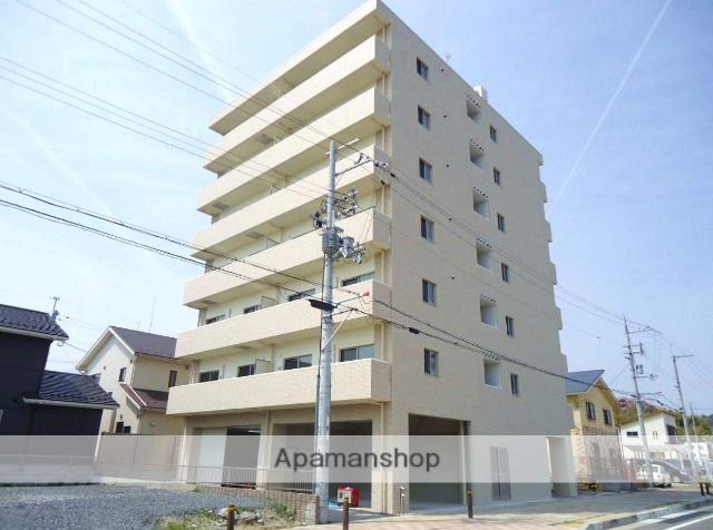 滋賀県大津市、堅田駅徒歩3分の築2年 7階建の賃貸マンション
