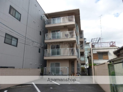 滋賀県大津市、大津駅徒歩9分の築30年 4階建の賃貸マンション