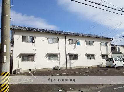 滋賀県草津市、草津駅徒歩15分の築36年 2階建の賃貸アパート