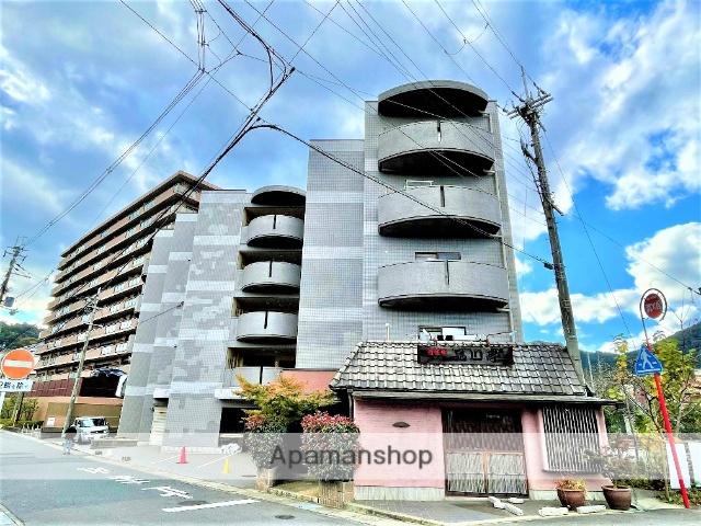 滋賀県大津市、大津駅徒歩20分の築26年 5階建の賃貸マンション