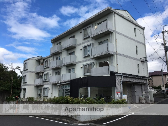 滋賀県大津市、南草津駅徒歩41分の築26年 4階建の賃貸マンション