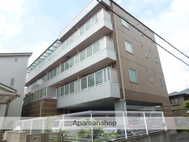 滋賀県大津市、石山駅バス7分マツダ前下車後徒歩23分の築18年 4階建の賃貸マンション