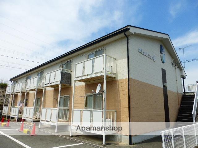滋賀県高島市、新旭駅徒歩5分の築20年 2階建の賃貸アパート