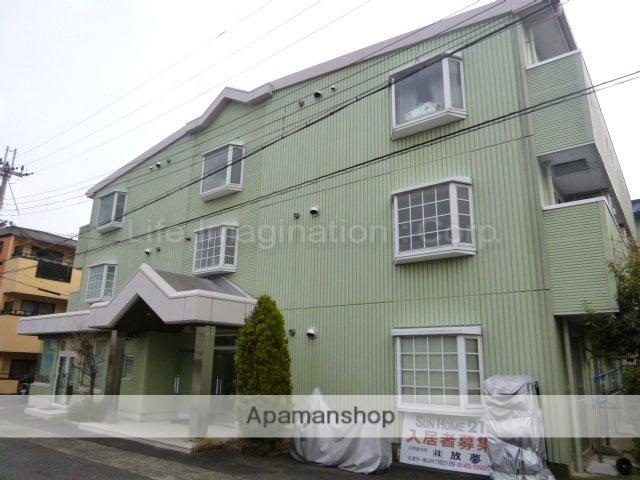滋賀県大津市、南草津駅徒歩46分の築27年 3階建の賃貸マンション