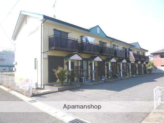 滋賀県高島市、安曇川駅徒歩3分の築16年 2階建の賃貸アパート