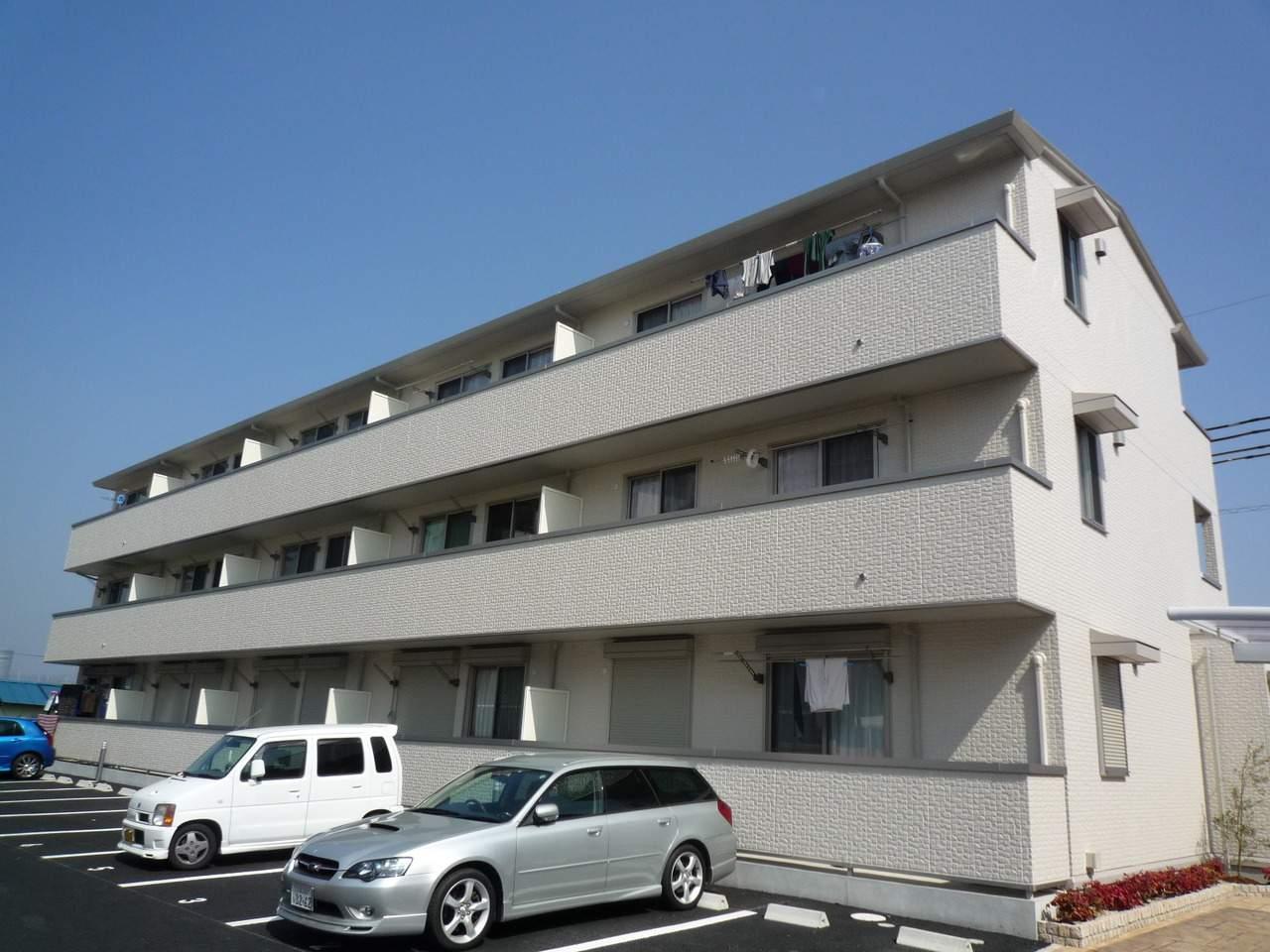 滋賀県大津市、南草津駅徒歩52分の築7年 3階建の賃貸アパート