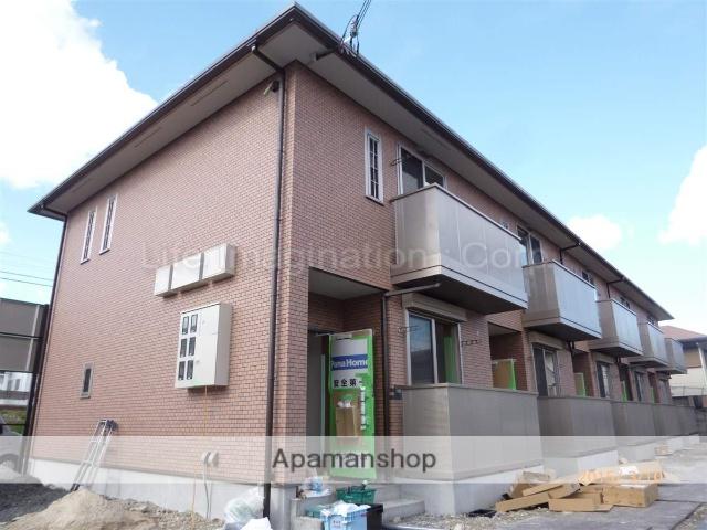 滋賀県草津市、草津駅徒歩14分の築1年 2階建の賃貸テラスハウス
