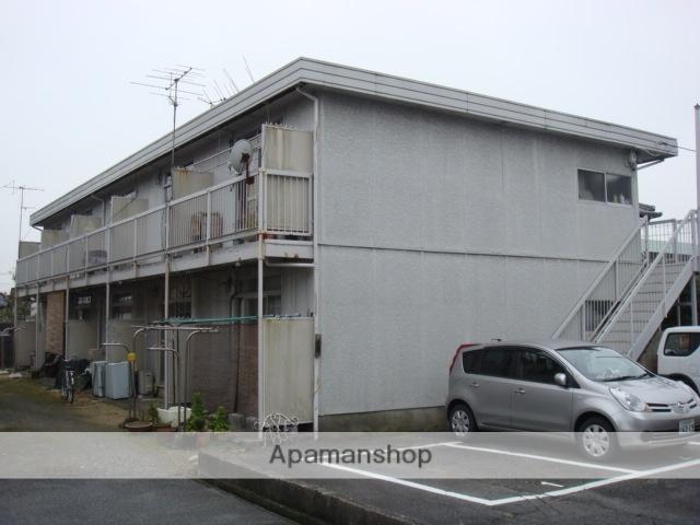 滋賀県守山市、守山駅徒歩23分の築42年 2階建の賃貸アパート