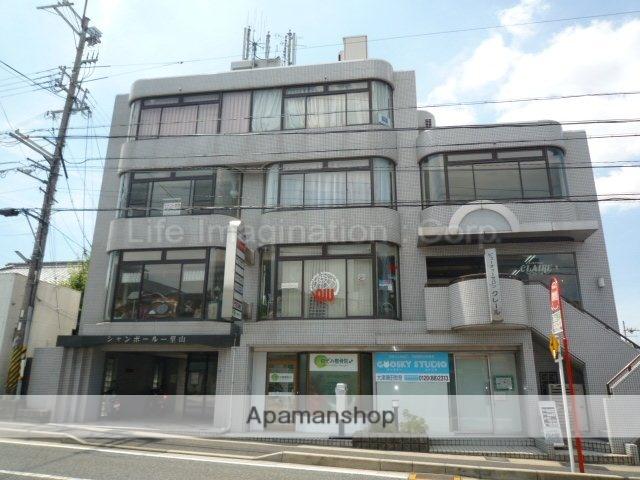 滋賀県大津市、南草津駅徒歩45分の築28年 5階建の賃貸マンション