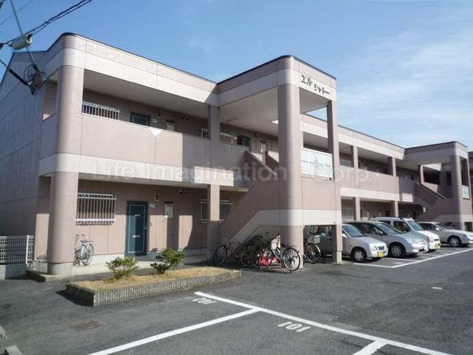 滋賀県大津市、南草津駅徒歩43分の築22年 2階建の賃貸マンション