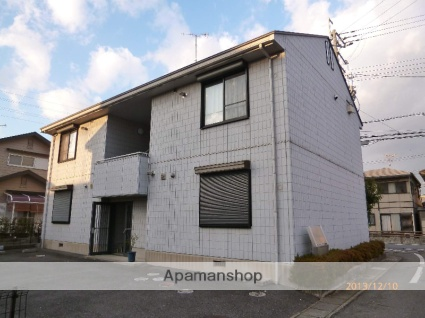 滋賀県守山市、守山駅徒歩16分の築22年 2階建の賃貸アパート