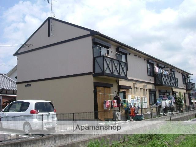 滋賀県守山市、守山駅徒歩19分の築20年 2階建の賃貸アパート