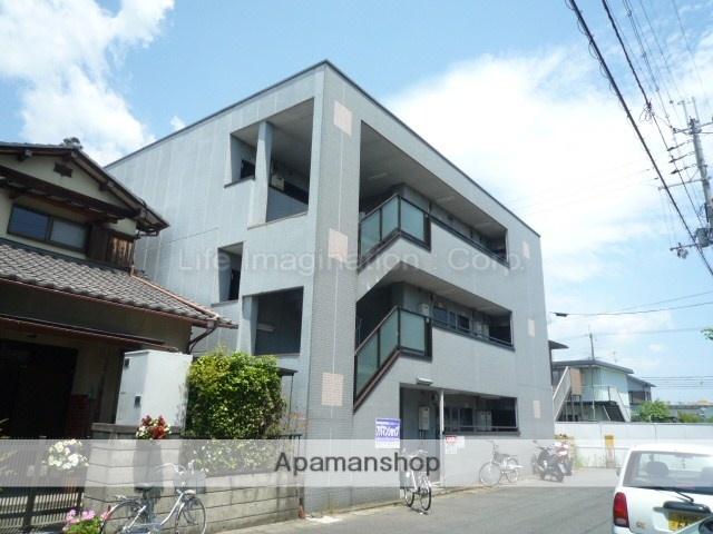 滋賀県大津市、堅田駅徒歩10分の築26年 3階建の賃貸マンション