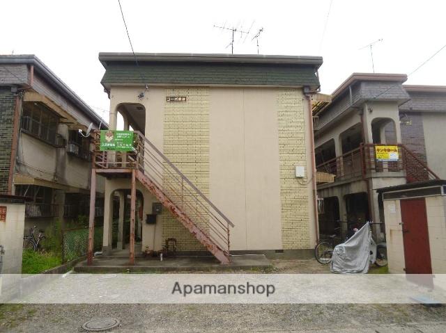 滋賀県草津市、手原駅徒歩52分の築42年 2階建の賃貸アパート