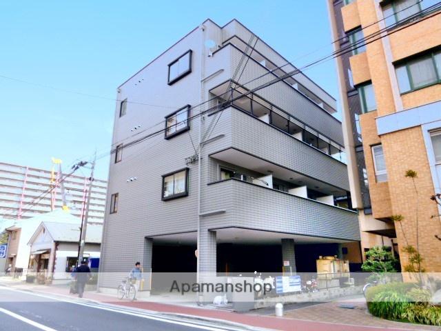 滋賀県大津市、石山駅徒歩8分の築19年 4階建の賃貸マンション