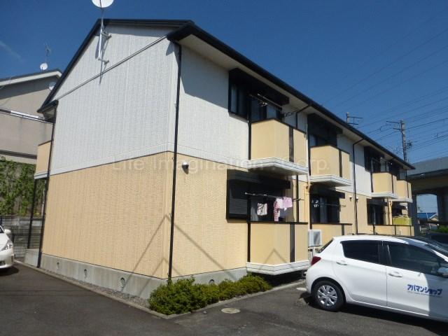滋賀県大津市、唐崎駅徒歩12分の築17年 2階建の賃貸アパート