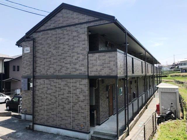 滋賀県大津市、志賀駅徒歩3分の築11年 2階建の賃貸アパート