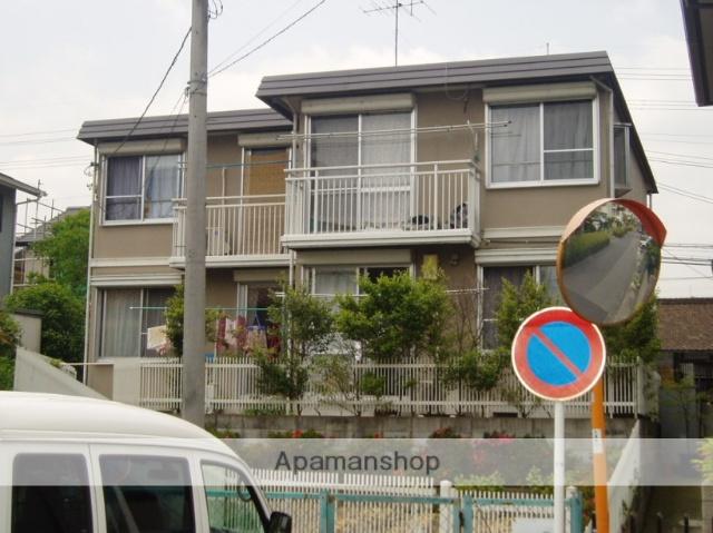 滋賀県大津市、膳所駅徒歩22分の築27年 2階建の賃貸アパート