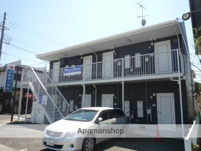 滋賀県草津市、栗東駅徒歩47分の築25年 2階建の賃貸アパート