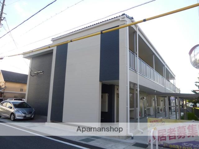 滋賀県栗東市、手原駅徒歩27分の築1年 2階建の賃貸アパート
