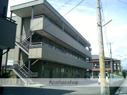 滋賀県草津市、草津駅徒歩18分の築42年 3階建の賃貸マンション