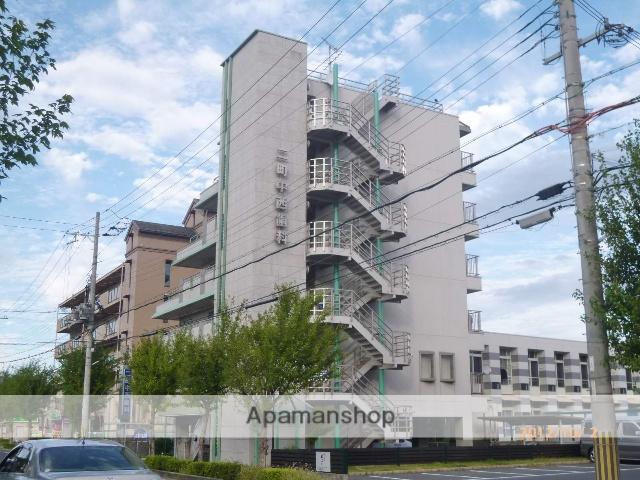 滋賀県守山市、守山駅徒歩27分の築18年 6階建の賃貸マンション