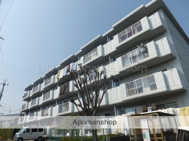 滋賀県大津市、瀬田駅徒歩19分の築29年 4階建の賃貸マンション