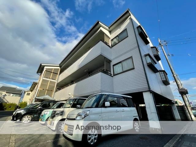 滋賀県草津市、栗東駅徒歩56分の築24年 3階建の賃貸マンション