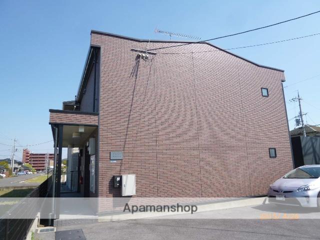 滋賀県守山市、守山駅徒歩17分の築5年 2階建の賃貸アパート