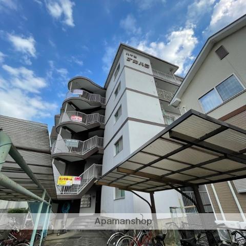 滋賀県草津市、栗東駅徒歩28分の築30年 5階建の賃貸マンション