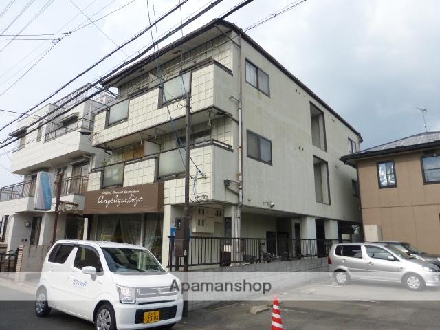 滋賀県大津市、膳所駅徒歩18分の築28年 3階建の賃貸マンション