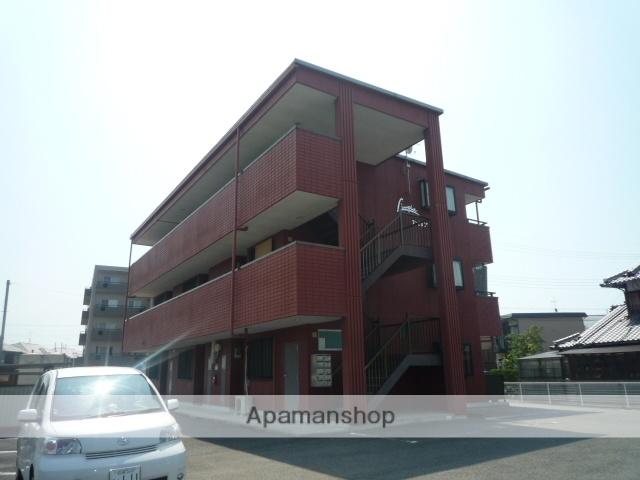 滋賀県守山市、守山駅徒歩17分の築19年 3階建の賃貸マンション