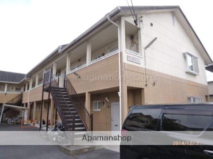 滋賀県草津市、手原駅徒歩40分の築24年 2階建の賃貸アパート