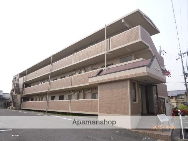 滋賀県守山市、守山駅徒歩22分の築21年 3階建の賃貸マンション