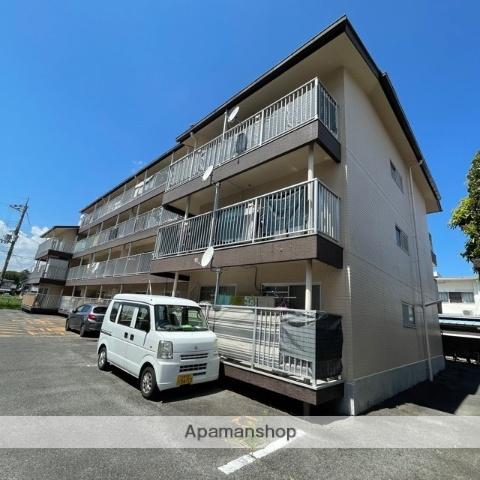 滋賀県草津市、手原駅徒歩41分の築30年 4階建の賃貸マンション