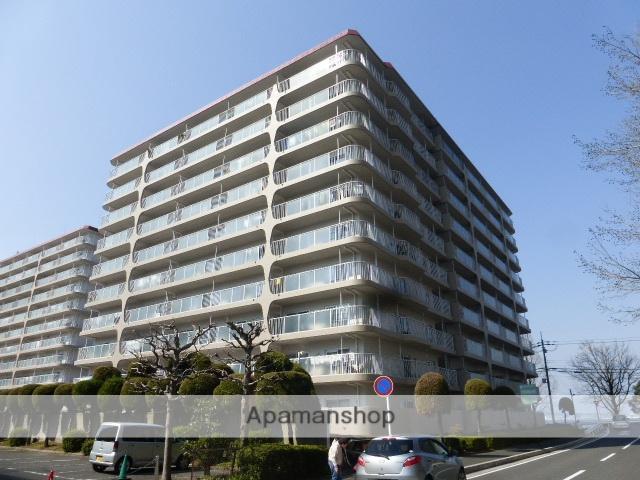 滋賀県大津市、膳所駅徒歩18分の築40年 10階建の賃貸マンション