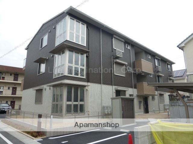 滋賀県大津市、唐崎駅徒歩7分の新築 3階建の賃貸アパート