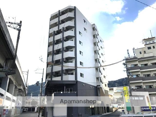 滋賀県大津市、大津京駅徒歩1分の新築 9階建の賃貸マンション