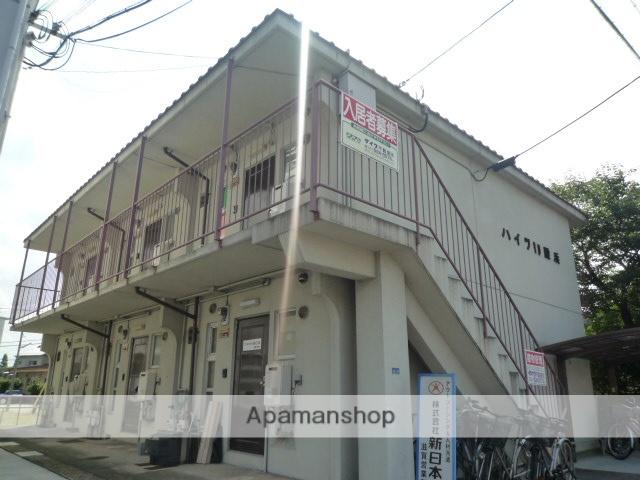 滋賀県大津市、石山駅徒歩10分の築36年 2階建の賃貸マンション