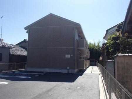 滋賀県大津市、比叡山坂本駅徒歩18分の築4年 2階建の賃貸アパート