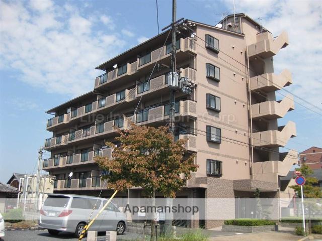 滋賀県栗東市、手原駅徒歩38分の築18年 6階建の賃貸マンション