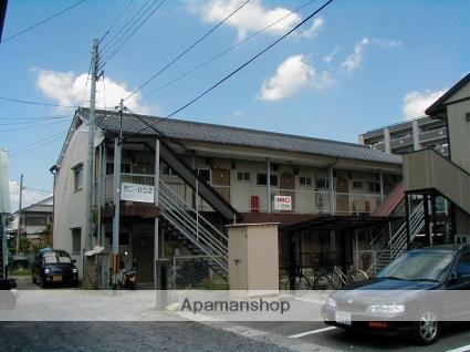 滋賀県草津市、栗東駅徒歩29分の築45年 2階建の賃貸アパート