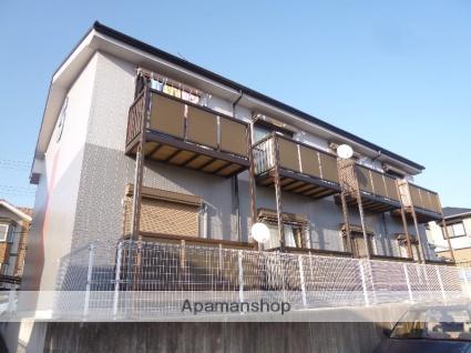 滋賀県湖南市、三雲駅JRバスバス13分下田口下車後徒歩2分の築17年 2階建の賃貸アパート