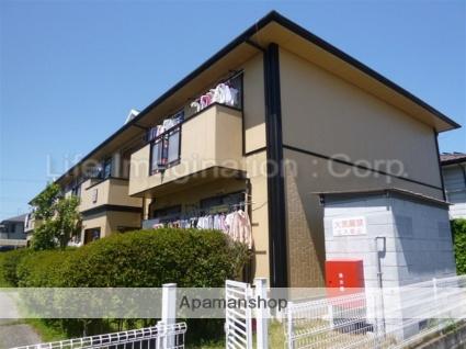 滋賀県守山市、守山駅徒歩10分の築23年 2階建の賃貸アパート