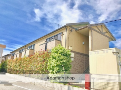 滋賀県彦根市、南彦根駅徒歩12分の築12年 2階建の賃貸アパート